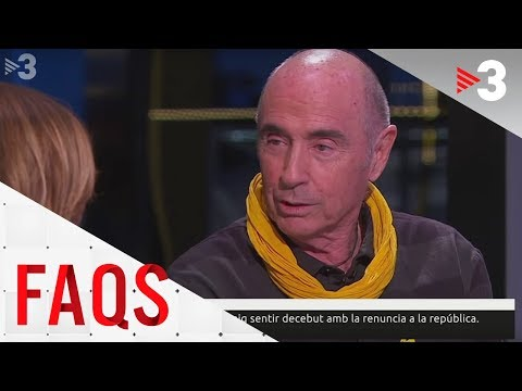 Lluís Llach: 'Volen aplicar un cop d'estat sigui o no institucional'