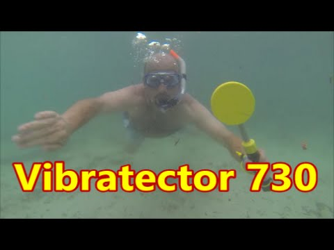 Underwater metal detector review - Vibratector 730