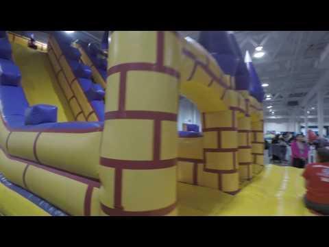 Kids Fest Toronto Indoor Inflatable Playground 2018
