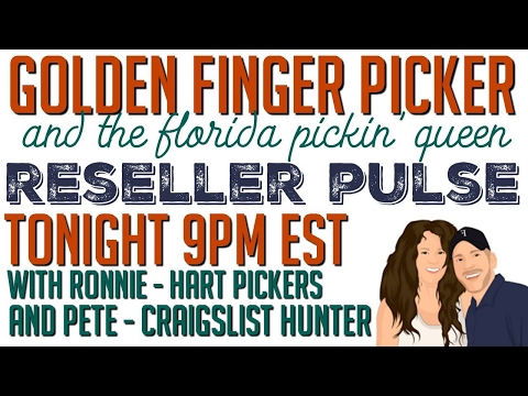 Reseller Pulse - 9PM EST - Bartering / Trading  & Sell Through Rate