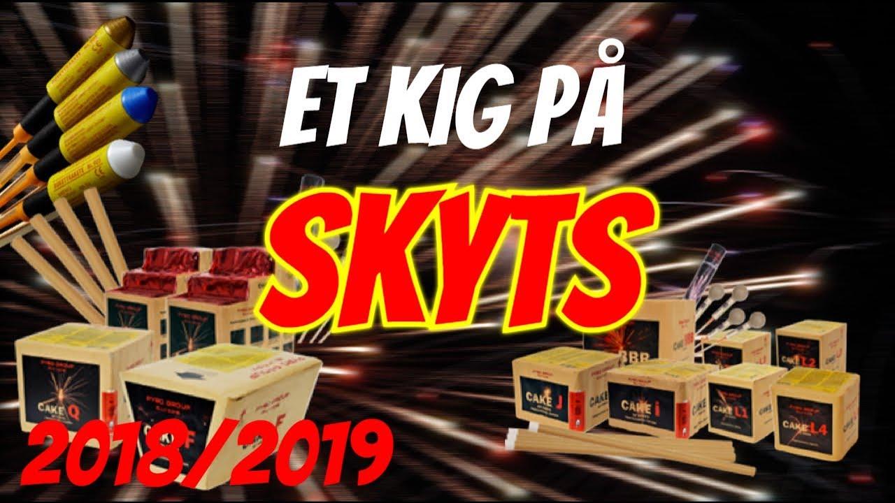 Pæn Fyrværkeri 2018-2019 - (Billige heksehyl) - Et kig på Skyts - YouTube LM07