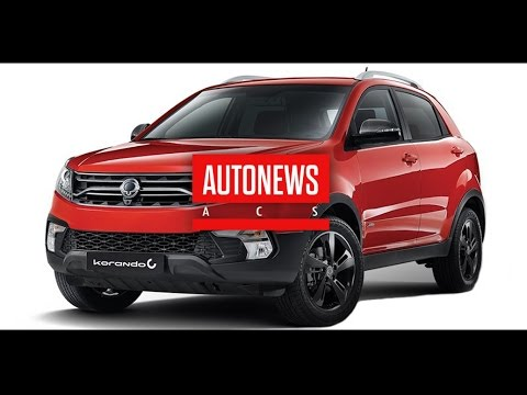 SsangYong обновила кроссовер Actyon