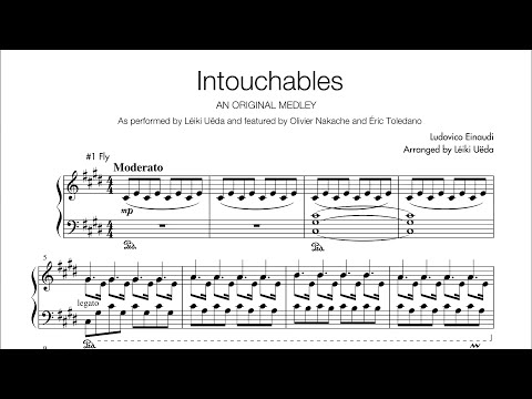 Intouchables Medley - Piano Solo Sheets - Arr. Léiki Uëda - Ludovico Einaudi