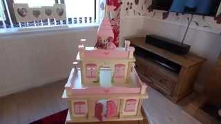 George Home Wooden Princess Castle Review I Viccy Vlogs