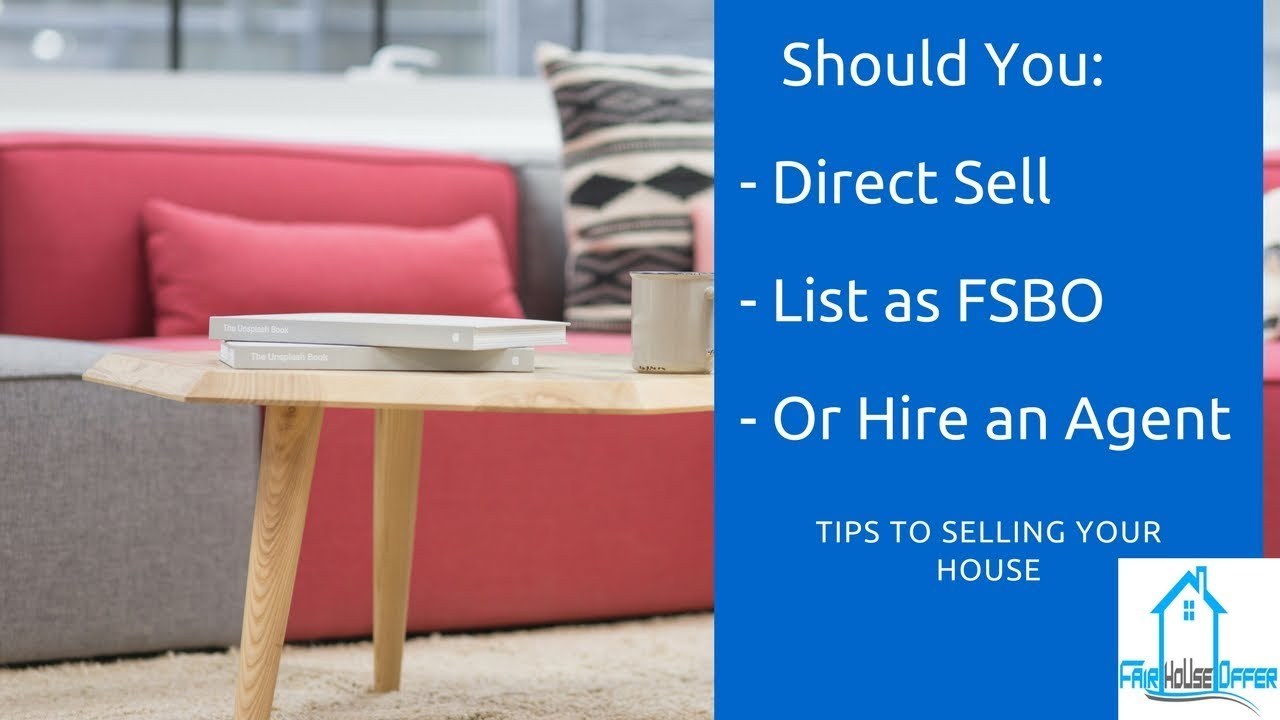 How Should You Sell My Charlotte House?  Direct Sale, FSBO, or Hire an Agent