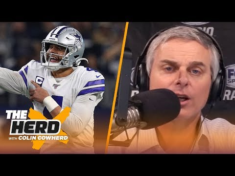 Colin plays 'Playoff or Takeoff' and predicts which NFC teams will make playoffs | NFL | THE HERD