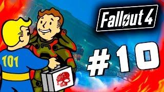 Fallout 4 - ОГНЕННАЯ ПУСТЫНЯ - Дирижабль 60 Fps 10