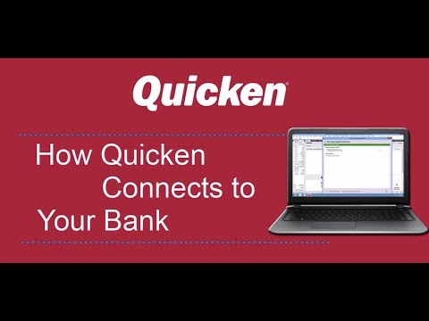 How Quicken Connects to your Bank