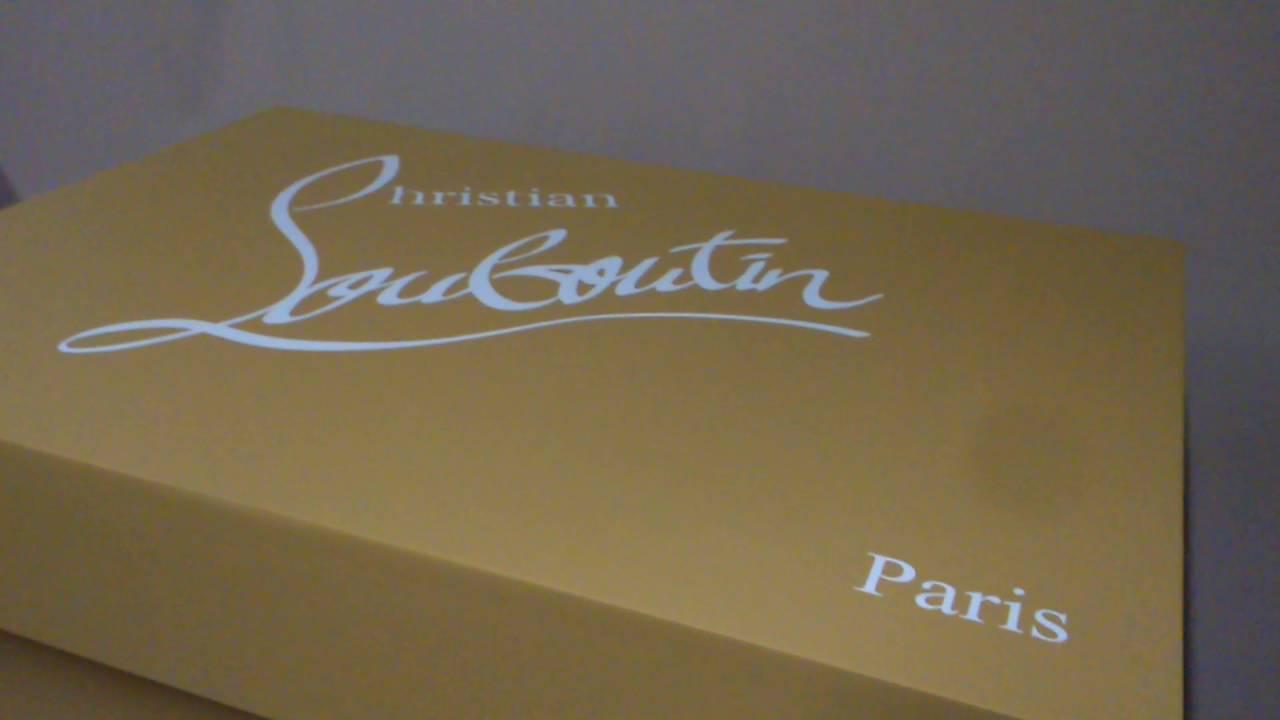 Louboutin Giant Shoe Box & Louboutin Giant Shoe Box - YouTube Aboutintivar.Com