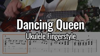 ABBA - Dancing Queen (Ukulele Fingerstyle / Chord Melody)