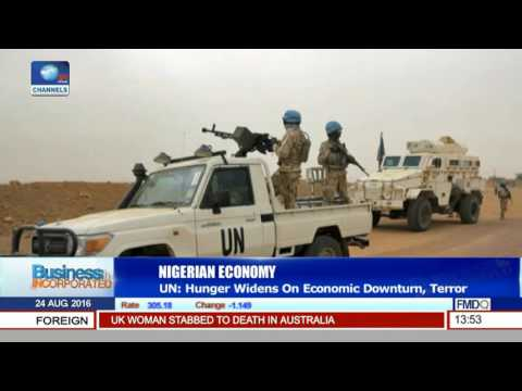 Business Incorporated: UN Says Hunger Widens On Economic Downturn And Terror