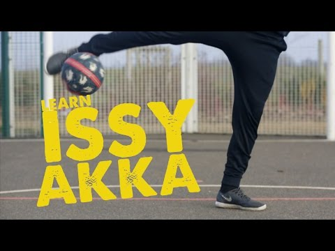 Learn Issy AKKA Street Football/Soccer skill - Day 55 of 90 Days