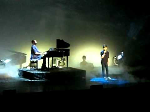 Ronan Parke and Paul Gbegbaje- Make you feel my love BGT tour 18/6/11