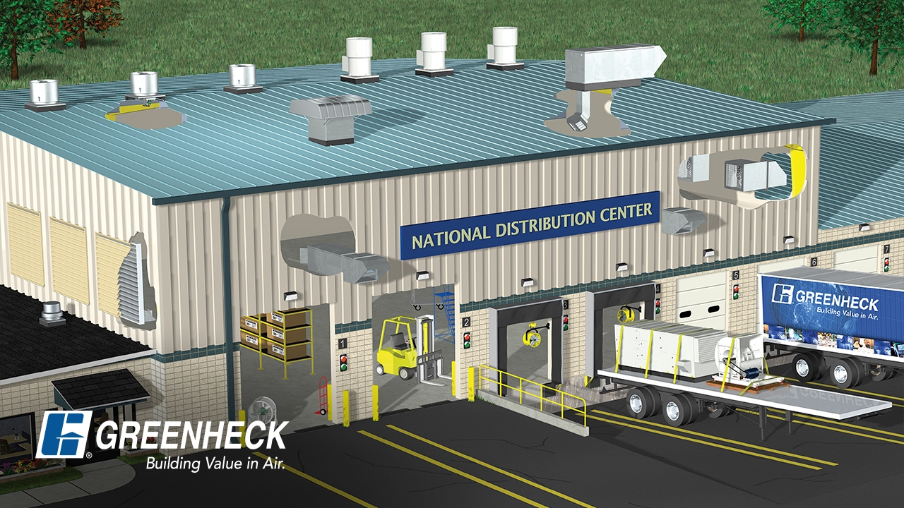 Vent System Greenheck Warehouse And Industrial Facility Ventilation Systems