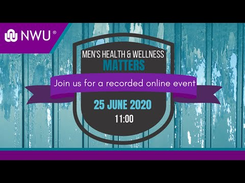 Men's Health And Wellness Recorded Online Event