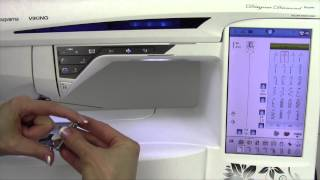Husqvarna Viking Designer Diamond 55 Free Motion Quilting