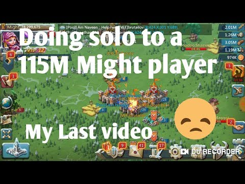 Last Video Quitting Lords Mobile |