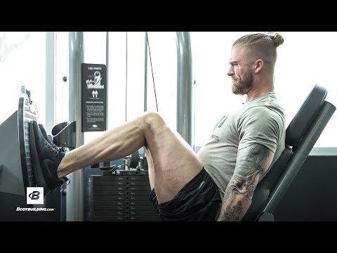 Minimalist Muscle-Building Leg Workout | Tyler Holt - YouTube