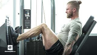 Minimalist Muscle-Building Leg Workout | Tyler Holt
