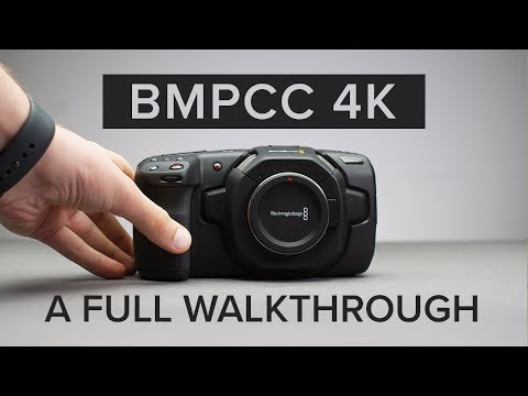 Blackmagic Pocket Cinema Camera 4K - Physical, Menu & Feature Walkthrough