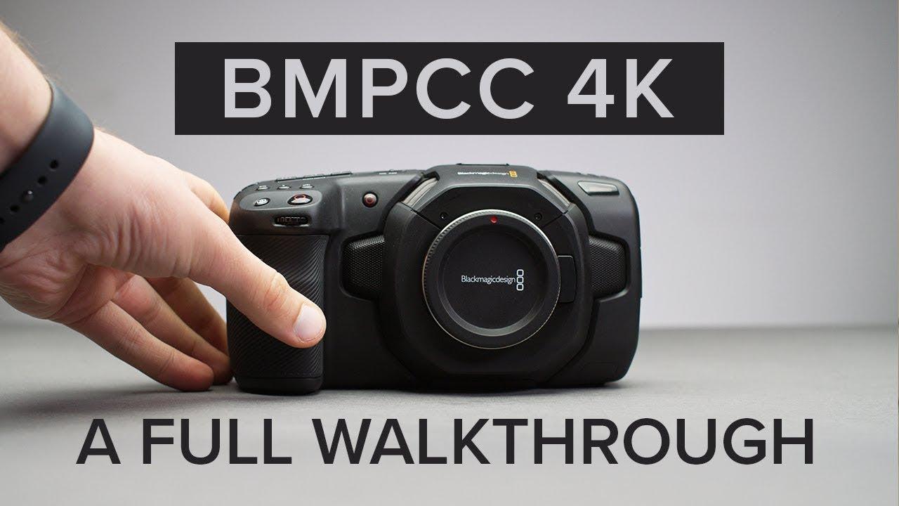 Blackmagic Pocket Cinema Camera 4k Physical Menu Feature Walkthrough Youtube