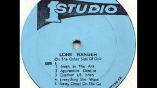 Lone Ranger~Apprentice Dentist