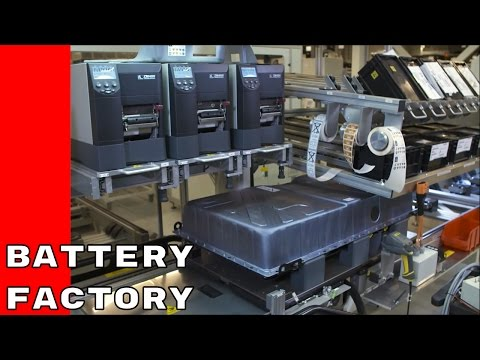 Mercedes Battery Production Factory