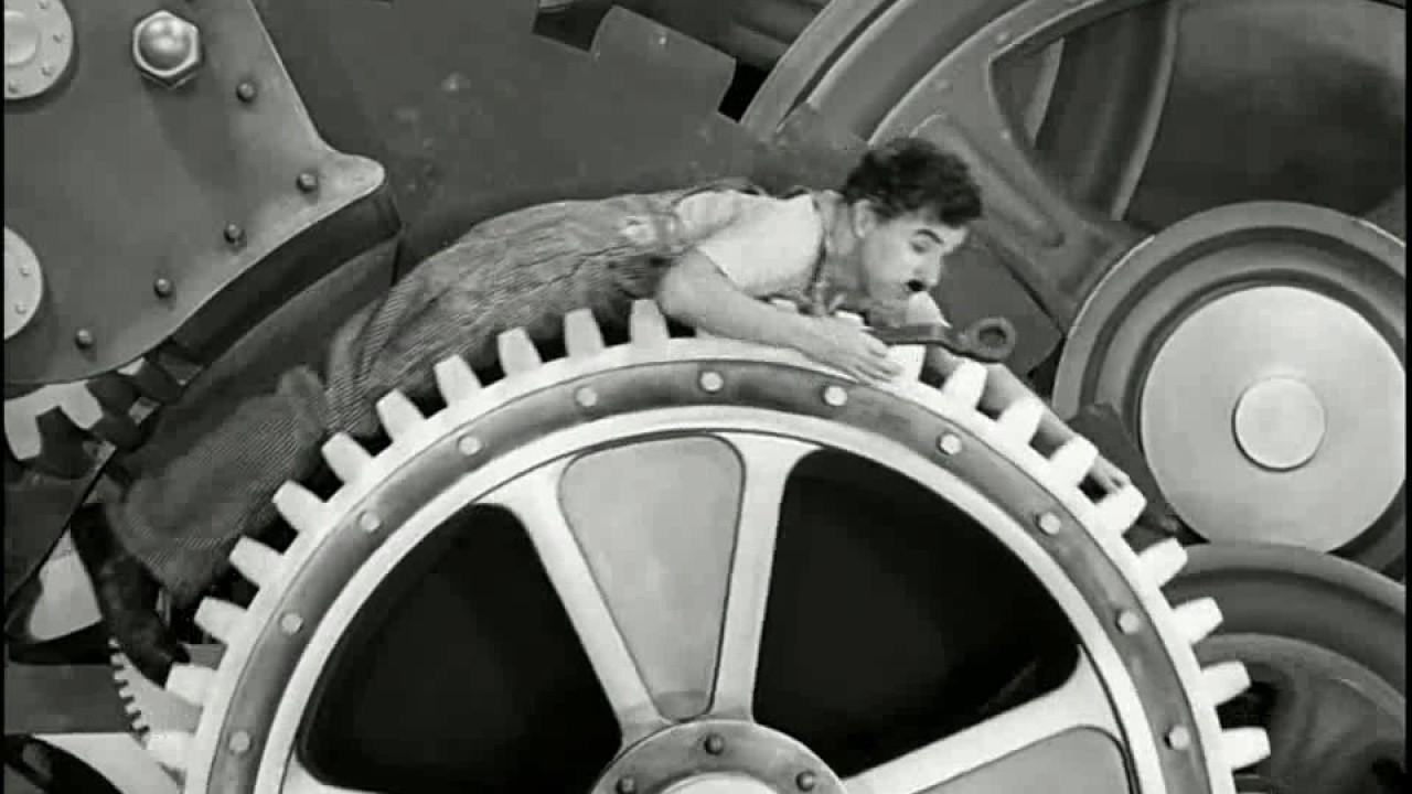 Hề Sác Lơ. Charlie Chaplin, Modern Times 1936 Part 2 HD