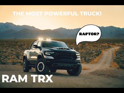 2021 RAM TRX; the raptors winner?