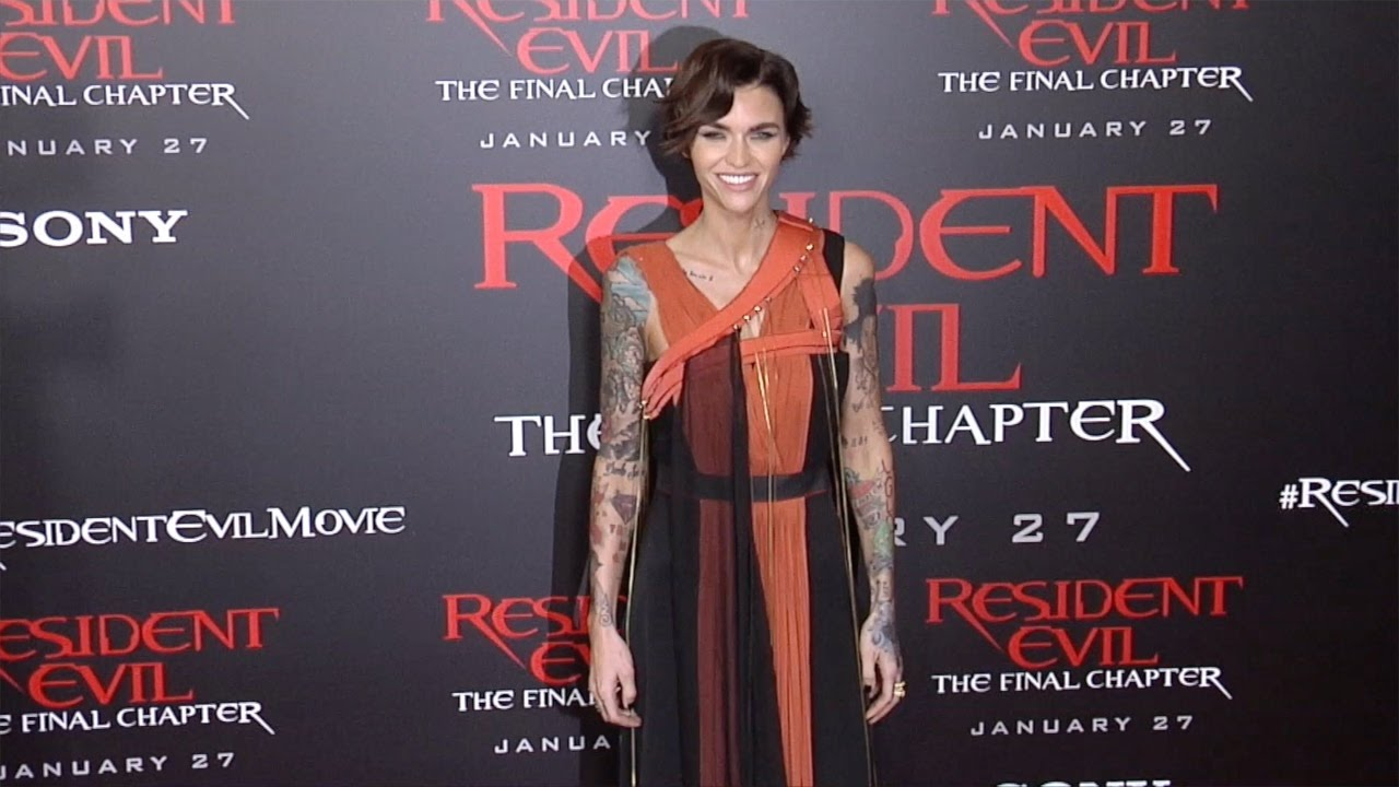 "Resident Evil The Final Chapter Premiere In: Ruby Rose ""Resident Evil: The Final Chapter"" LA Premiere"