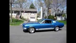 1967 Mustang Fastback  test drive / drive by