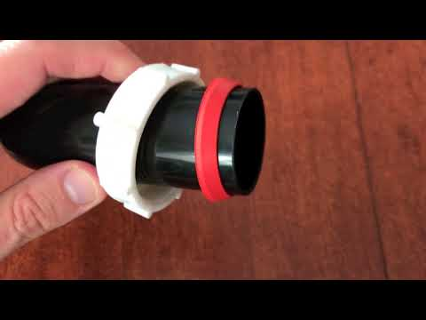 How a Slip Joint Nut works – Creates water tight Seal – Plumbing 101