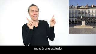 Eloge du pas de côté / Philippe Ramette / vidéo LSF