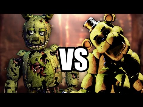 Thumbnail: GOLDEN FREDDY VS SPRINGTRAP MORTAL KOMBAT | FIVE NIGHTS AT FREDDY'S ANIMACION
