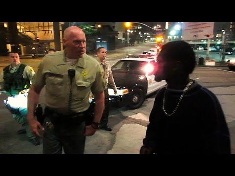Get off the bus | LAPD vs Sheriffs | Vlog