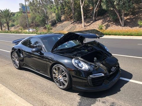 REBUILDING A WRECKED PORSCHE TURBO S X GT2 RS CONVERSION PART 1