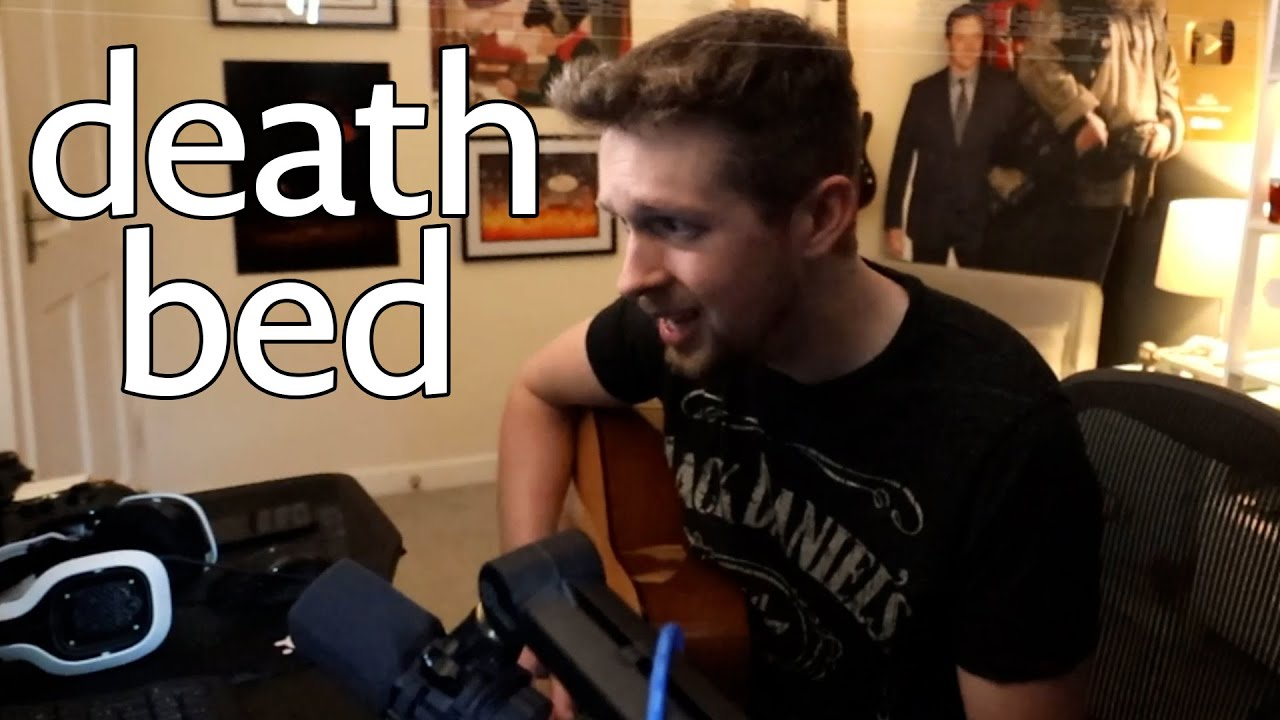 death bed acoustic cover
