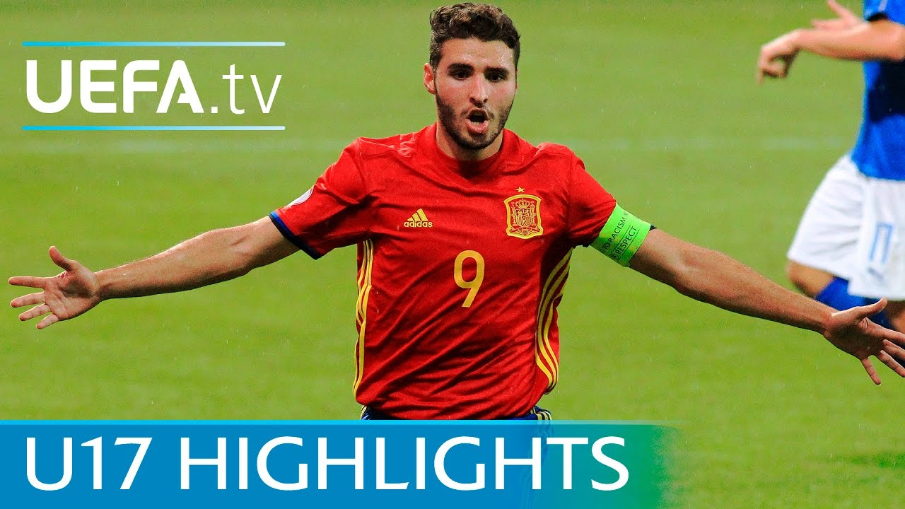08c0654a5 U17 Highlights: Spain 3-1 Italy - YouTube