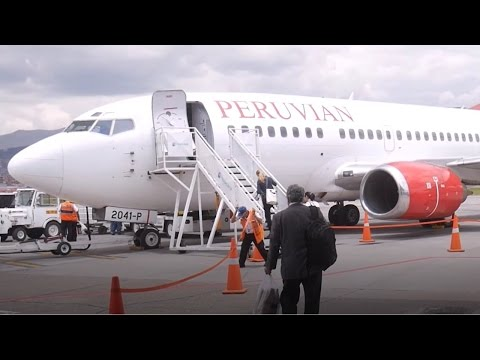Traveling on Peruvian Airlines