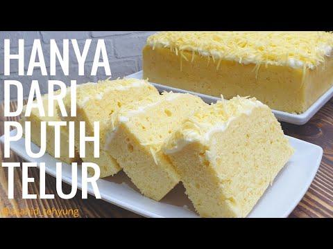 How To Make Egg White Cheese Cake Recipes Egg White Cake Steamed