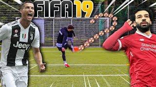 FIFA TORE NACHSTELLEN FUßBALL CHALLENGE !