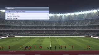 Gameplay comentado Pro Evolution Soccer 2015 PS4