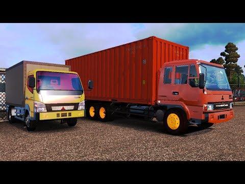 Full Download] Ets 2 Truck Fuso Paket Hampir Crash Dengan