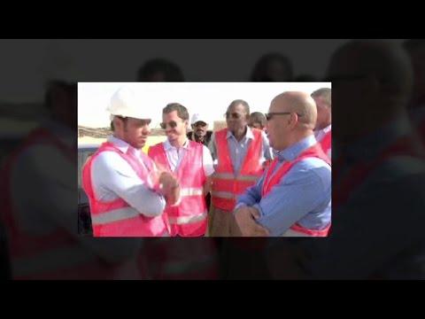 Sheikh Zayed Solar Plant in Mauritania