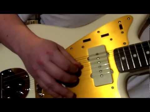 Squier J Mascis Jazzmaster Jam - Mic'd