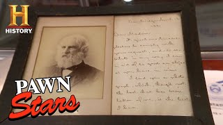 Pawn Stars: Rick Offers More than Double the Asking Price for Longfellow Relics | History