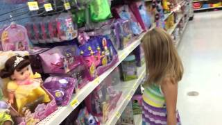 Buying DOLLS at Wal-Mart! Monster High, Disney, Sofia the first, The Little Mermaid