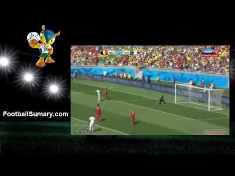 2014 World Cup Belgium 2 - 1 Algeria all Goals and Highlights