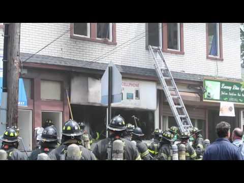 FDNY responds to fire in West Brighton, Staten Island, New York City