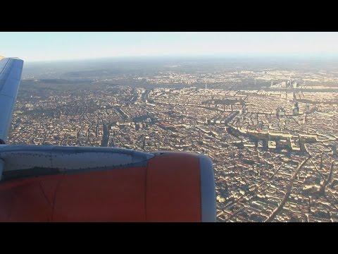 EasyJet A320 Landing Vienna Runway 11